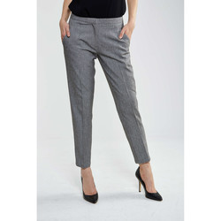 Chinos / Carrots Minimum Pantalon  Halle Gris Femme