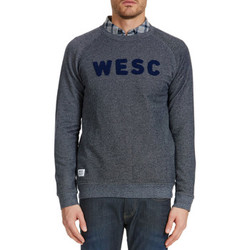 Vêtements Homme Sweats Wesc Sweat Shirt  Arlo Bleu Homme Bleu