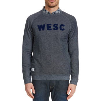 Sweats Wesc Sweat Shirt  Arlo Bleu Homme