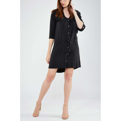 Robes courtes Maison Scotch Robe  Frange Noir Femme