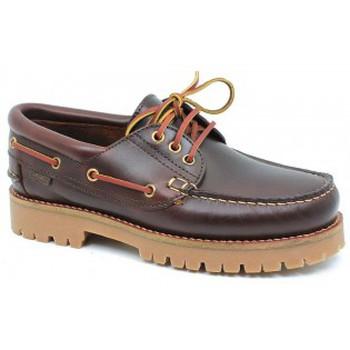 Chaussures Homme Chaussures bateau CallagHan mod.21910 Marrón Marrón