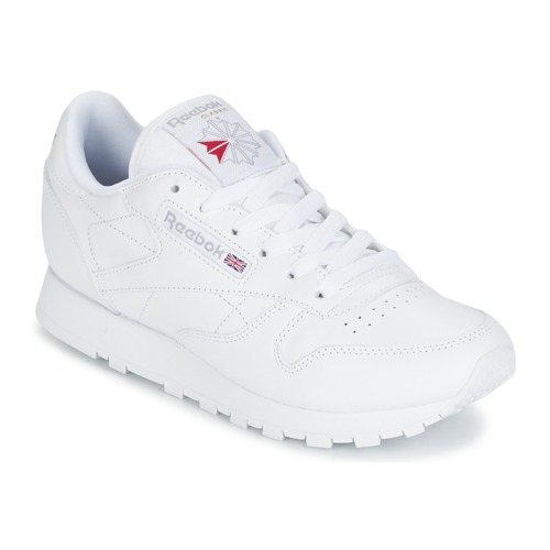 58fbe07d2e1 Chaussures Femme Baskets basses Reebok Classic CLASSIC LEATHER Blanc