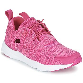 Baskets mode Reebok Classic FURYLITE JERSEY Rose 350x350