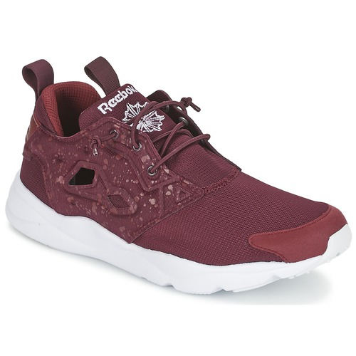 Baskets mode Reebok Classic FURYLITE SP Rouge 350x350