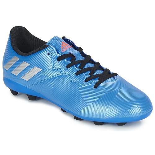 Chaussures Garçon Football adidas Performance MESSI 16.4 FXG J Bleu