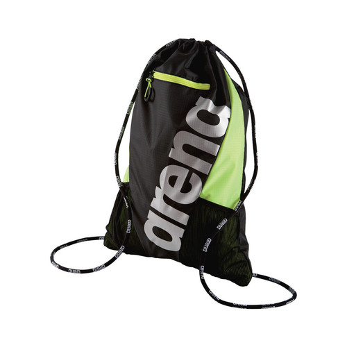 Sacs Homme Sacs à dos Arena Fast Sackpack Black / Fluo Yellow / Silver