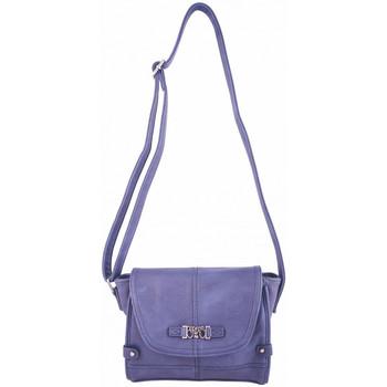 Sacs Femme Sacs porté main Le Temps des Cerises Sac  Loop 14 Bleu Bleu