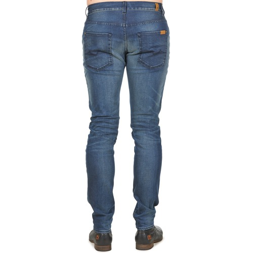 Medium All Jeans Ronnie Mankind Homme For Slim 7 Mind Bleu Electric kXOPZui