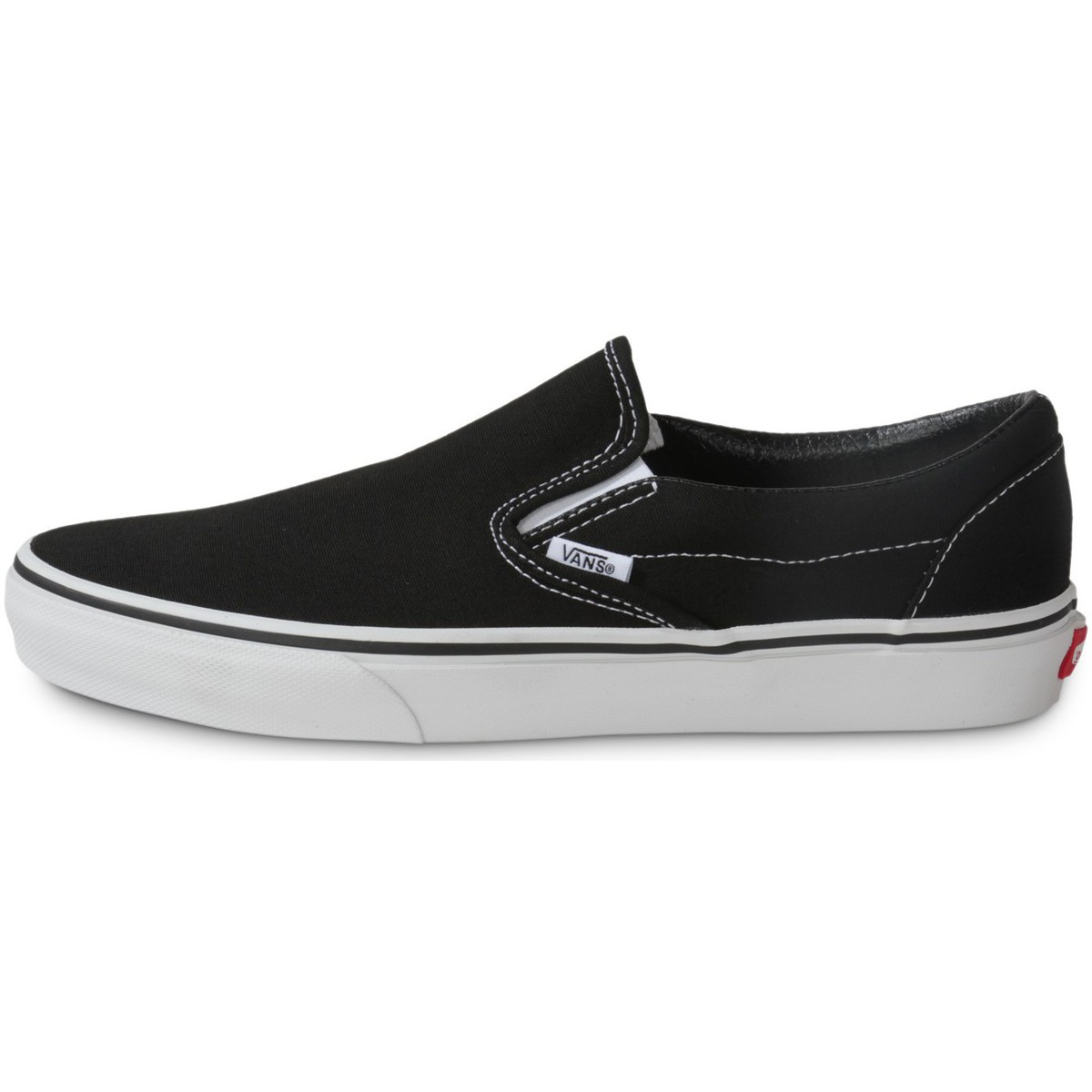 vans classic slip on noir chaussures chaussures de skate homme 89 18. Black Bedroom Furniture Sets. Home Design Ideas