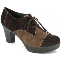 Chaussures Femme Low boots Pedro Miralles Weekend 2228 de tacón con para marron
