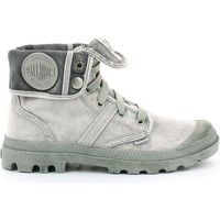 Chaussures Boots Palladium Manufacture BAGGY TOILE Gris