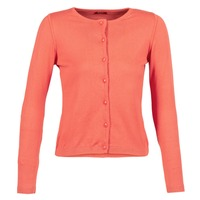 Vêtements Femme Gilets / Cardigans BOTD EVANITOA Orange
