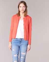 Vêtements Femme Gilets / Cardigans BOTD EVANITOA Corail
