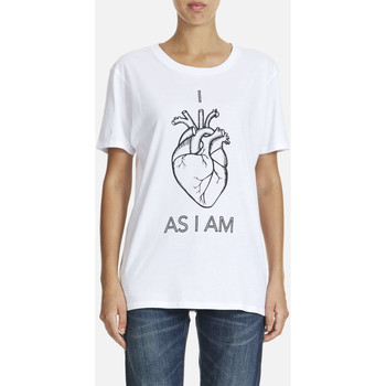 Vêtements Femme T-shirts manches courtes As I Am Tee Shirt Mc  Blanc Blanc