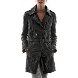 Vêtements Femme Vestes en cuir / synthétiques Mac Douglas Beatrix Noir Noir
