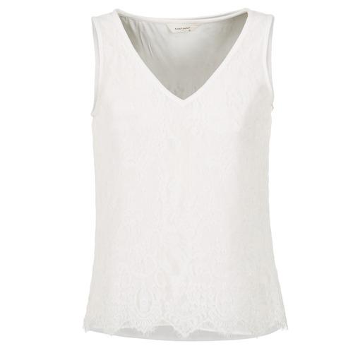 T-shirts & Polos Naf Naf LADALIA Ecru 350x350