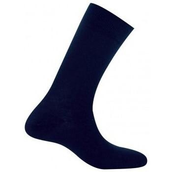 Accessoires Homme Chaussettes Kindy Mi-chaussettes homme jersey unie pur coton Marine
