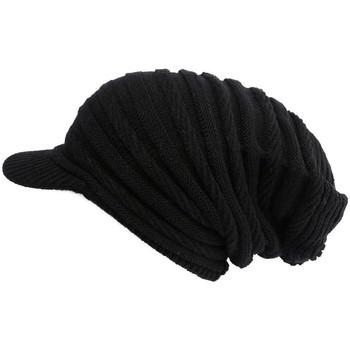 Casquettes Nyls Création Bonnet Casquette Rasta Noir Kift