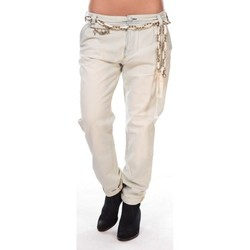 Vêtements Femme Pantalons 5 poches Rich & Royal Rich&royal Pantalon Amalfi Beige