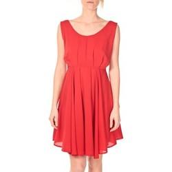Vêtements Femme Robes courtes Aggabarti Aggarbati Robe Bretelles 121084 Cerise Rouge