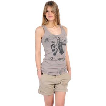Vêtements Femme Débardeurs / T-shirts sans manche Rich & Royal T-shirt 11q436 Beige Beige
