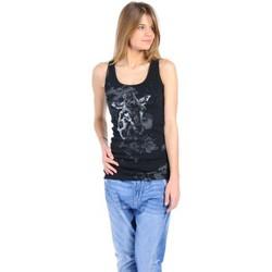Débardeurs / T-shirts sans manche Rich & Royal T-shirt 11q436 Noir