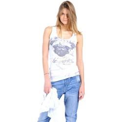 Vêtements Femme Débardeurs / T-shirts sans manche Rich & Royal Débardeur 11q435 Blanc Blanc