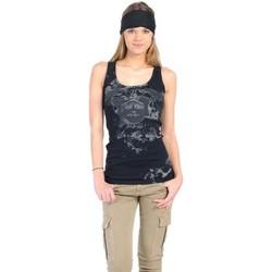 Vêtements Femme Débardeurs / T-shirts sans manche Rich & Royal Débardeur 11q435 Noir Noir