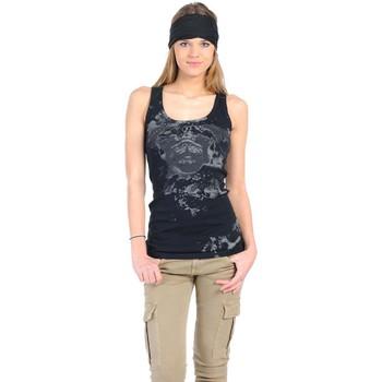 Débardeurs / T-shirts sans manche Rich & Royal Débardeur 11q435 Noir