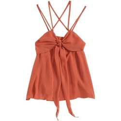Vêtements Femme Débardeurs / T-shirts sans manche Aggabarti Top 121068 Orange Orange