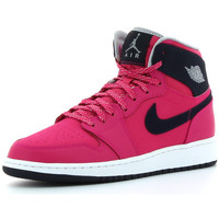 Chaussures Fille Baskets montantes Nike Air  1 Retro High Pink