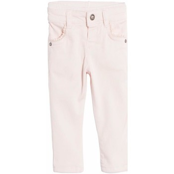 Vêtements Fille Jeans droit Ikks - Jean denim stretch rose tendre bébé fille Rose