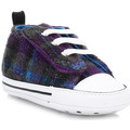 Converse Baby Allium Purple First Star Easy Slip On Trainers