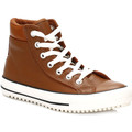 Converse Womens Pinecone Brown Boot Hi Leather Trainers