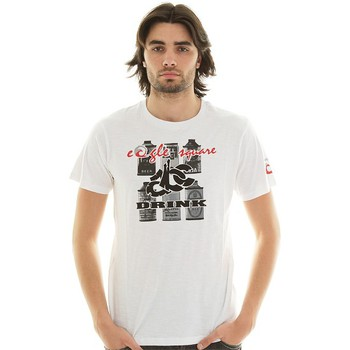 Vêtements Homme T-shirts & Polos Eagle Square T-shirt  Drink White Blanc