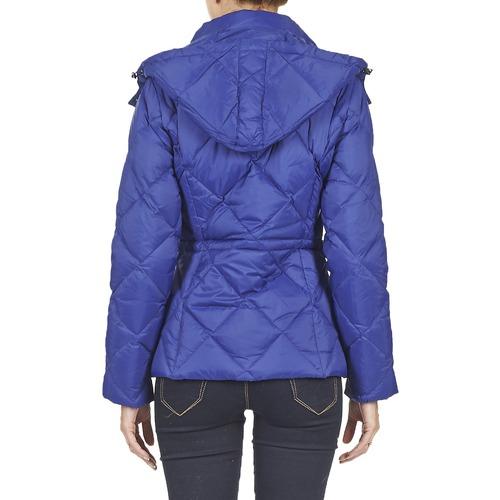 Benetton Foulio Bleu - Livraison Gratuite Avec Vêtements Doudounes Femme 10320