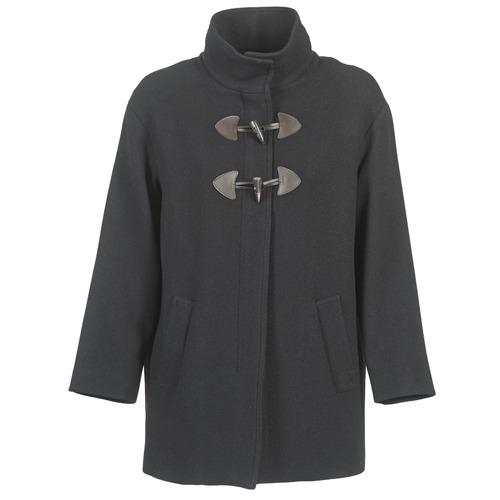 Vêtements Femme Manteaux Benetton DILO Noir