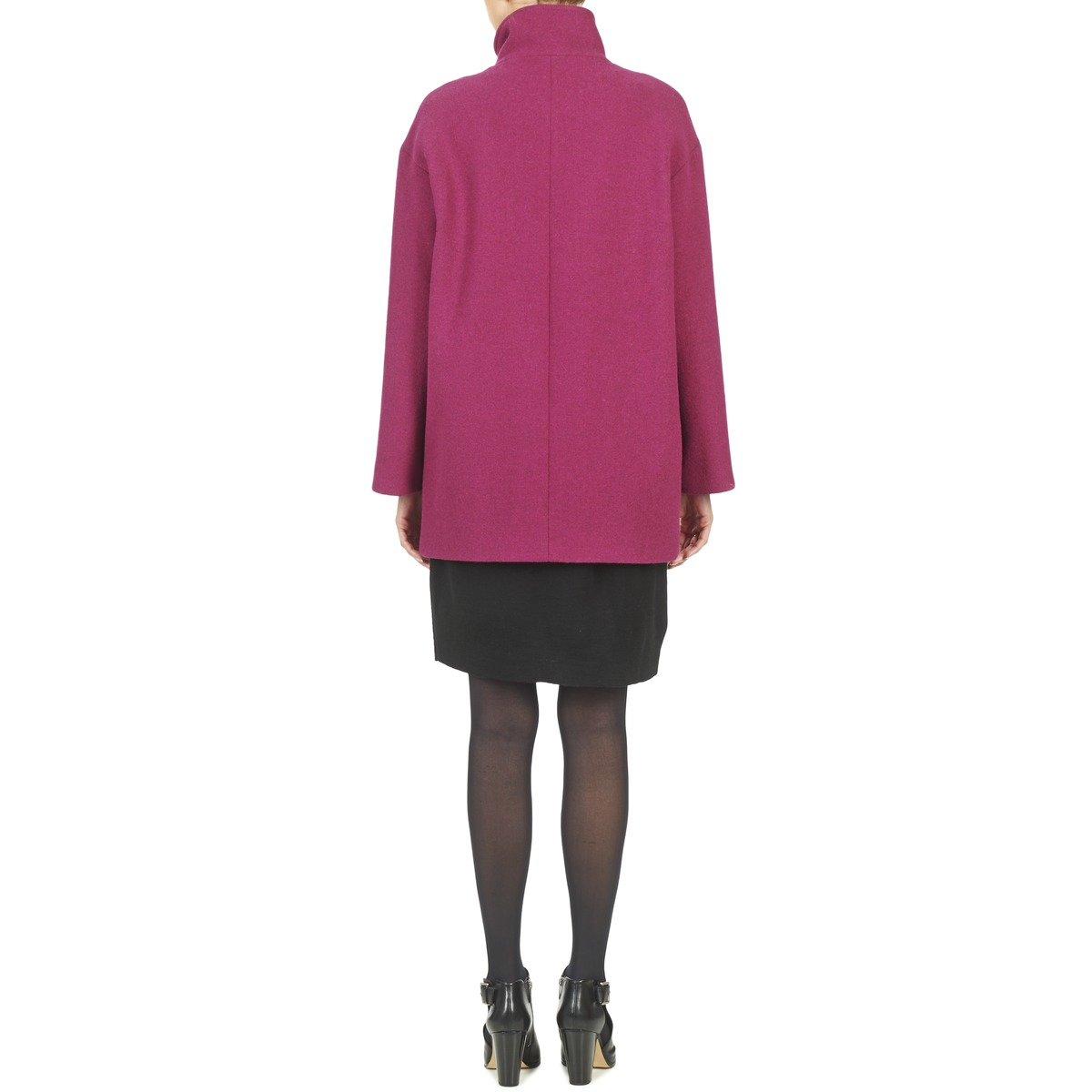 Benetton Dilo Rose - Livraison Gratuite Vêtements Manteaux Femme 135,20 €