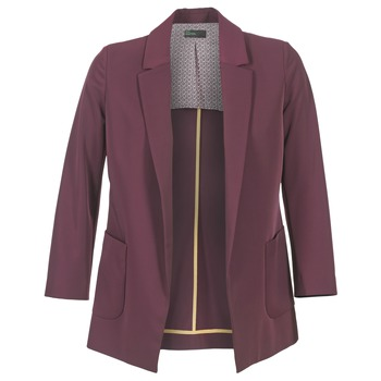 Vêtements Femme Vestes / Blazers Benetton GULO Prune