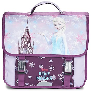 Cartables Disney REINE DES NEIGES CARTABLE 38CM Mauve 350x350