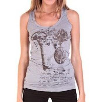Débardeurs / T-shirts sans manche Rich & Royal DEBARDEUR VIKO GRIS
