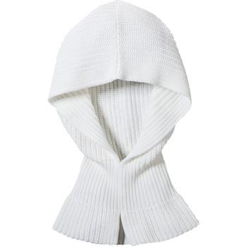 Accessoires textile Femme Echarpes / Etoles / Foulards Petit Bateau Col Capuche Femme en côte perlée Blanc Lait Blanc