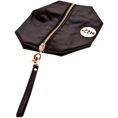 Sacs Femme Pochettes / Sacoches Very Bag Street Pochette besace bouton doré Noire Noir