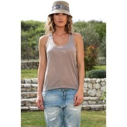 Vêtements Femme Débardeurs / T-shirts sans manche By La Vitrine Chapeau Cloche Beige