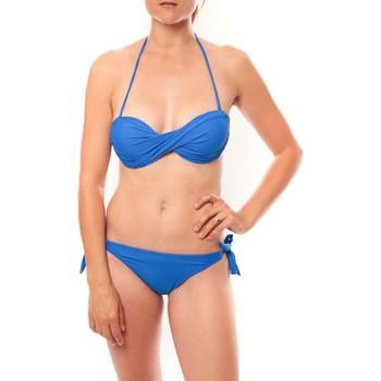 Vêtements Femme Maillots de bain 2 pièces Playa Del Sol Maillot de bain B9809 Bleu Bleu