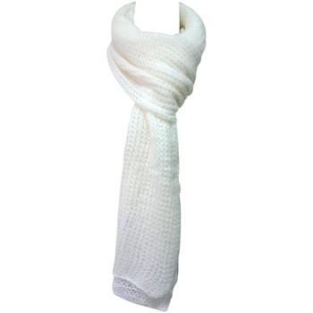 Accessoires textile Femme Echarpes / Etoles / Foulards De Fil En Aiguille Écharpe Santa Blanc Blanc