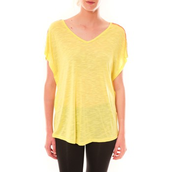 T-shirts manches courtes Dress Code Top M-9388  Jaune