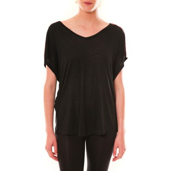 Vêtements Femme T-shirts manches courtes Dress Code Top M-9388  Noir Noir