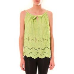 Vêtements Femme Débardeurs / T-shirts sans manche Dress Code Debardeur HS-1019  Amande Vert
