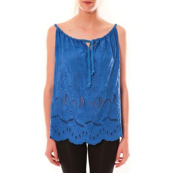 Vêtements Femme Débardeurs / T-shirts sans manche Dress Code Debardeur HS-1019  Bleu Bleu